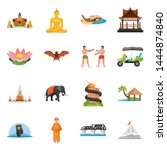 Vector Illustration Of Thailan...