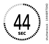 the 44 second countdown timer...