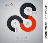 minimal infographics. vector | Shutterstock .eps vector #144490984
