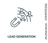 Lead Generation Outline Icon....