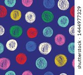 simple seamless pattern with... | Shutterstock .eps vector #1444977329