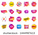 sale banner. special offer... | Shutterstock .eps vector #1444987613