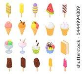 ice cream vector icecream in... | Shutterstock .eps vector #1444994309