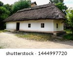 Old Ukrainian House. Ukrainian...