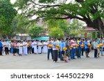 mahasarakham  thailand   april... | Shutterstock . vector #144502298