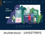 health plans   medical... | Shutterstock .eps vector #1445079893