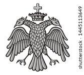 grayscale sketch of byzantine ...