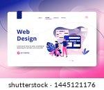 landing page web design  the...