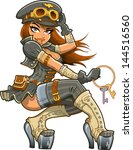 air,airship,antique,attractive,avatar,aviator,boots,bustier,cap,captain,cartoon,character,copper,corset,fantasy