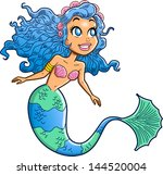 anime,aquatic,art,avatar,beautiful,blue eyes,blue hair,cartoon,character,clip art,creature,enchantress,evil,fairy,female