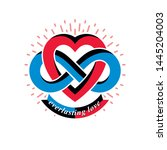 Infinite Love Concept  Vector...