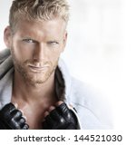 close up portrait of a very... | Shutterstock . vector #144521030