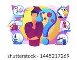 postgraduate  career... | Shutterstock .eps vector #1445217269