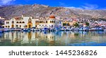 Small photo of Unspoiled Greek islands - scenic Kalymnos with authentic beauty. Dodekanese, Greece