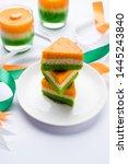 Tri Coloured   Tiranga  Cake...