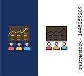 team  arrow  business  chart ... | Shutterstock .eps vector #1445259209