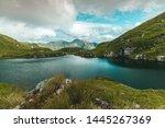 panoramic view of lake capra ... | Shutterstock . vector #1445267369