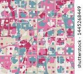 seamless pattern. the... | Shutterstock .eps vector #1445268449