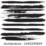 grunge vector brush. abstract... | Shutterstock .eps vector #1445299859