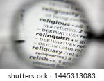 Small photo of The word or phrase Relinquish in a dictionary