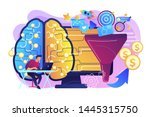 artificial intelligence... | Shutterstock .eps vector #1445315750