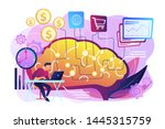 software based assistant.... | Shutterstock .eps vector #1445315759