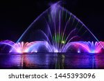 Musical Fountain With Laser...