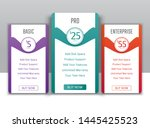pricing tables template flat...