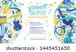 Jazz Festival Flat Vector Web...
