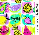 fashion tropics funny...   Shutterstock .eps vector #1445460146