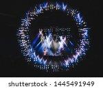 let's eat grandma at sideways... | Shutterstock . vector #1445491949
