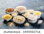 Selection Of Whole Grains In...