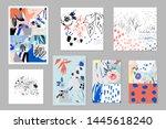 creative universal artistic... | Shutterstock .eps vector #1445618240