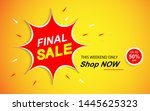this weekend only final sale...   Shutterstock .eps vector #1445625323