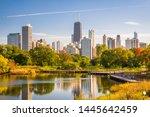 Chicago  Illinois  Usa Park An...