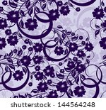 seamless floral background   Shutterstock .eps vector #144564248