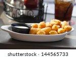 cheese curds | Shutterstock . vector #144565733
