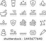 set of skin icons  such as... | Shutterstock .eps vector #1445677640