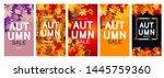 abstract vector illustration... | Shutterstock .eps vector #1445759360