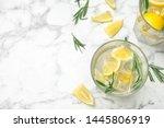 Glasses Of Refreshing Lemonade...