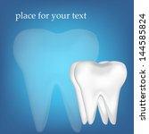 tooth design element. vector... | Shutterstock .eps vector #144585824