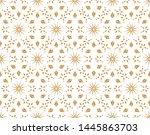 abstract geometric pattern with ... | Shutterstock .eps vector #1445863703
