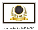 realistic vector tablet pc...   Shutterstock .eps vector #144594680
