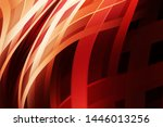 fluid abstract background with... | Shutterstock . vector #1446013256