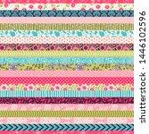 template seamless multicolor... | Shutterstock .eps vector #1446102596