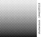 halftone square geometrical... | Shutterstock .eps vector #1446105113