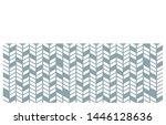 modern pattern vector... | Shutterstock .eps vector #1446128636