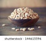 Bowl Of Salted  Peanuts