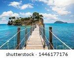 The Wooden Footbridge Leading...