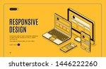responsive design landing page  ...